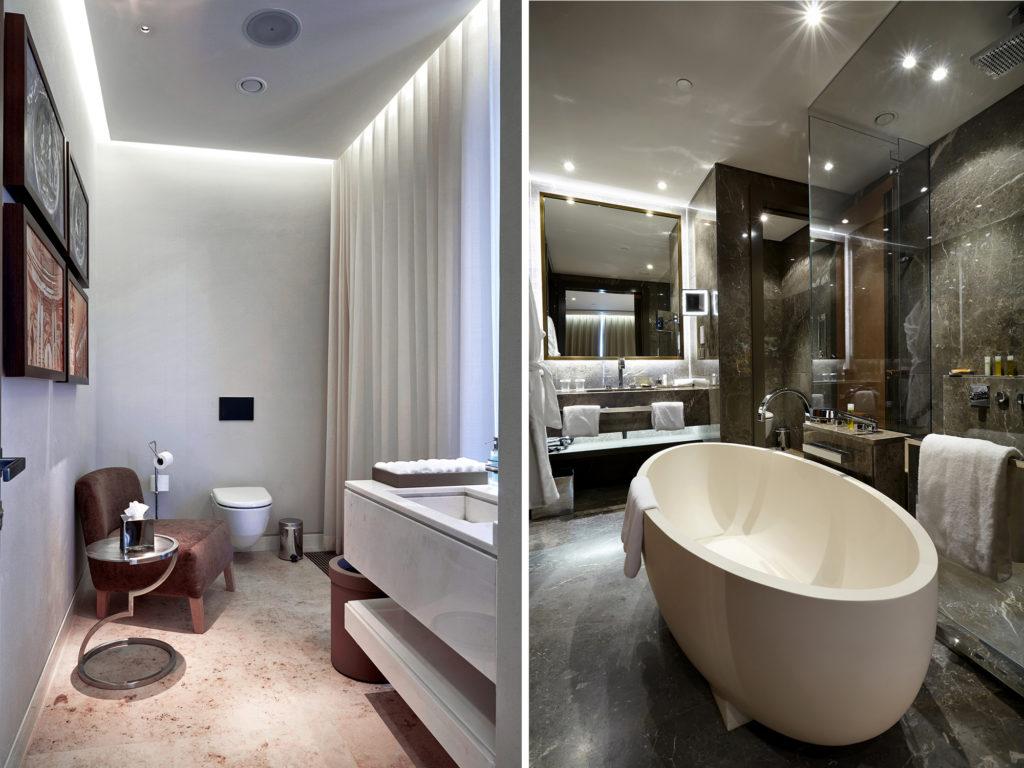 интерьеры ванной